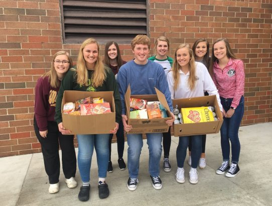NHS Food Drive Huge Success