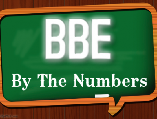 BBE Right Now: By The Numbers